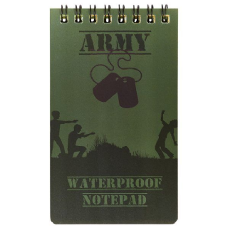 Army Waterproof Notepad